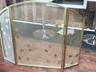 Greenbrier Iron Fire Screen by Christopher Knight