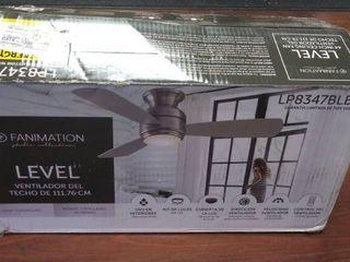 Fanimation level 44in Ceiling Fan