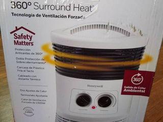 Honeywell 360 Degree Surround Heater  White