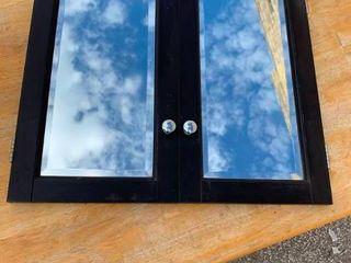 Cabinet mirrored doors