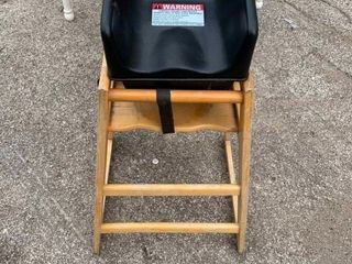 Toddler child booster seat and highchair