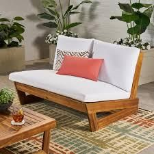 Sherwood Outdoor Acacia Wood middle only with Cushions no refund