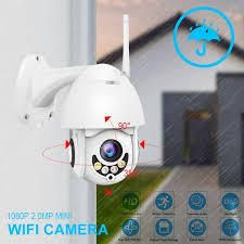 1080P WiFi Camera Wireless Security IP Camera IP66 IR Night Vision DigitalHome Security Outdoor Security Surveillance Camera  Retail 75 48