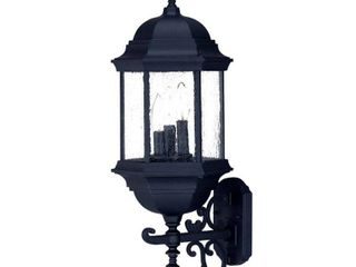 Acclaim lighting Madison Collection Wall Mount 3 light Outdoor Matte Black light Fixture  Retail 106 99