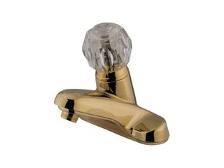 Kingston Brass Americana Centerset Bathroom Faucet with ABS Pop Up Drain