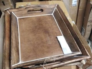 The Gray Barn Whispering Pines Wood Trays Retail 76 98