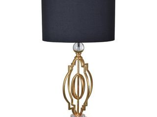 Shine Gold leaf 34 inch Table lamp  Retail 142 49