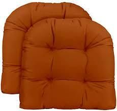 rust brown colored cushion 3 pc
