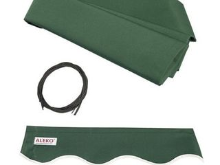 AlEKO 6 5 x5  Retractable Patio Awning Fabric Replacement green
