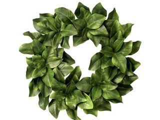 Eva Magnolia leaf Wreath 26