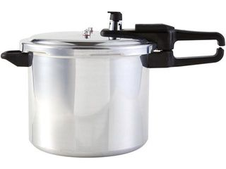 Continental Stove Top 4 or 9 Quart Aluminum Pressure Cooker with Safety lid