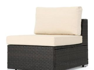 Santa Rosa Outdoor Middle Chair ONlY  multi brown and beige