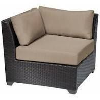 Cosiest Outdoor left Corner Chair ONlY  brown