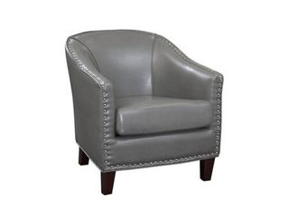 Giles Accent Chair with Nail Heads  Retail 289 99