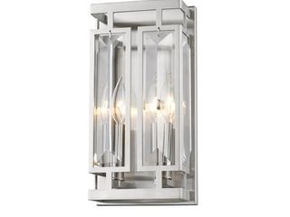 Avery Home lighting Mersesse Wall Sconce light 6006 2S BN  Retail 186 00