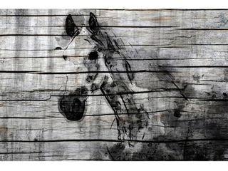 Marmont Hill    Elegant Horse  by Irena Orlov Painting Print on Wrapped Canvas   Multi color  Retail 147 49