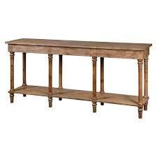brynn console hall table light brown