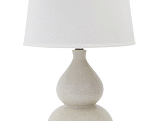 Signature Design by Ashley Saffi Cream 31  Ceramic Table lamp
