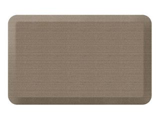 Designer Comfort Grasscloth Anti fatigue Kitchen Mat