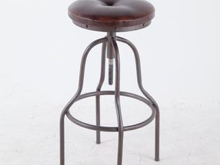 winsome Swivel Bar Stool brown