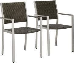 Cape Coral grey chairs set of 2