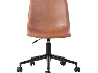 Furniture R Home Study Room Brown Secretary Office Chair  Retail 159 99
