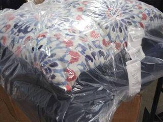 patio cushion set blue and multi colored