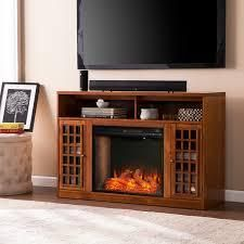 Copper Grove Nylah Brown Alexa Enabled Media Fireplace with Storage  Retail 567 99