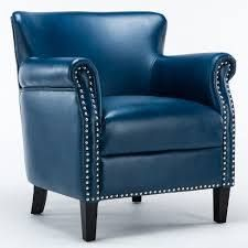 holly chair navy blue