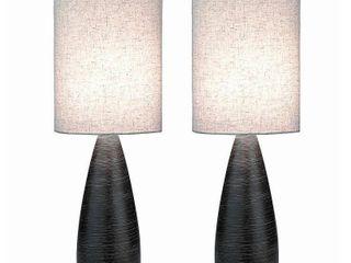 lite Source Two Pack Quatro 1 light large Table lamp  Retail 128 00