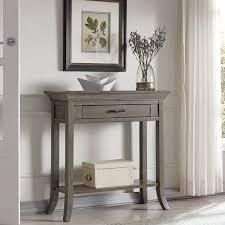 Copper Grove Dillberry Solid Wood Cherry Console Table  Retail 139 99