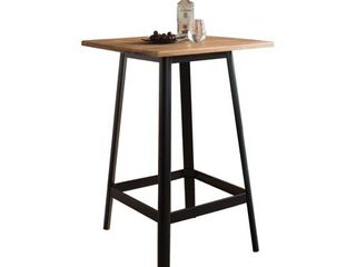 ACME Jacotte Bar Table in Natural and Black  Retail 262 99