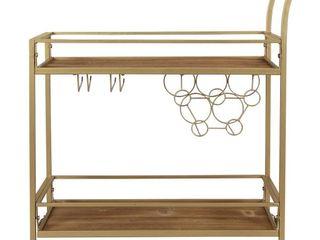 FirsTime   Co  Francesca Bar Cart  Retail 137 26