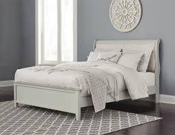 Jorsrad gray panel bed California king SIDE RAIlS AND SlATS ONlY