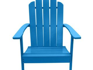 Hillsdale Outdoor Patio Acacia Adirondack Chair  Retail 155 49
