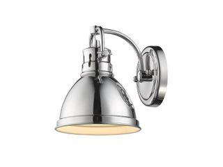 Golden lighting Duncan Metal Shade 1 light Bath Vanity