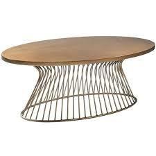 Carson Carrington Telsiai Bronze Coffee Table  Retail 298 99