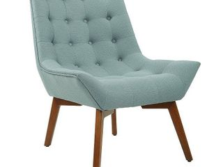 Shelly Tufted Chair with Coffee legs  Retail 204 49