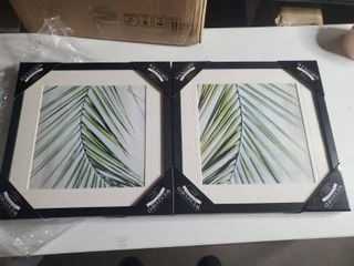 Wexford Home  Palm View I  Framed Set  Retail 83 49