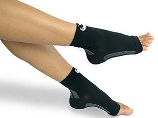Foot Compression Sleeves    2 Pair  Ankle Sleeve Socks  xl
