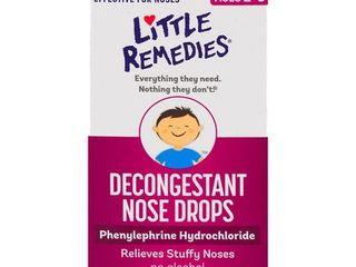 little Noses Decongestant Nose Drops  Children 2   50 fl oz  15 ml   Pack of 2