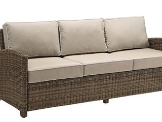 Crosley Brown Wicker Couch Cushions in Stock Photo will NOT be what you get