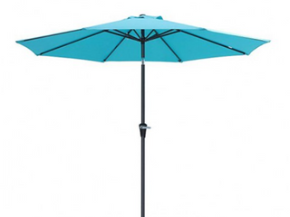 Songmics Patio Umbrella Teal  No Base