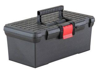 Craftsman 16 in  Plastic Classic Tool Box 6 4 in  H Black