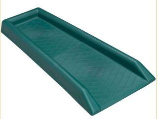 lake lite Hg 31510 Diamond Rain run Downspout Splashblock  Green