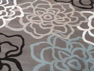 Miranda Haus Pastiche Modern Floral Patchwork Area Rug Collection  Retail 134 99