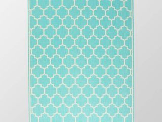Ifran Outdoor Area Rug by Christopher Knight Home  Retail 141 99