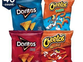 Frito lay Doritos   Cheetos Variety Pack  1 oz  40 CT