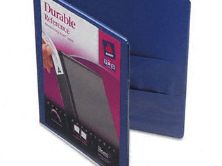 1  Durable View Ring Binder with Slant Rings 11  x 8 5  Purple   Avery