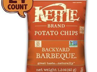 KETTlE BRAND  POTATO CHIPS  BACKYARD BARBECUE 1 5oz Bag 24 Case